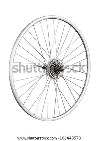 Wheels and hub - stock photo
