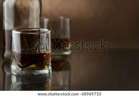 Whiskey - stock photo