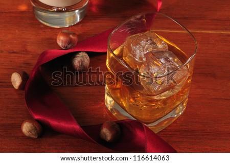 Whisky. - stock photo