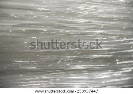 whit plastic background horizontal - stock photo