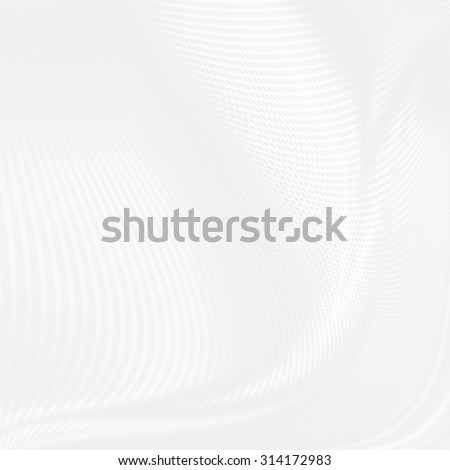 white abstract background texture curved grid pattern or geometric pattern - stock photo