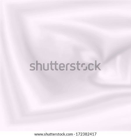 white abstract background with delicate smooth shapes - stock photo