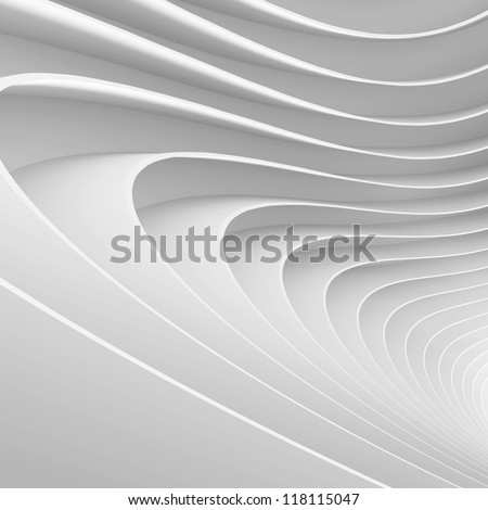 White Abstract Texture - stock photo