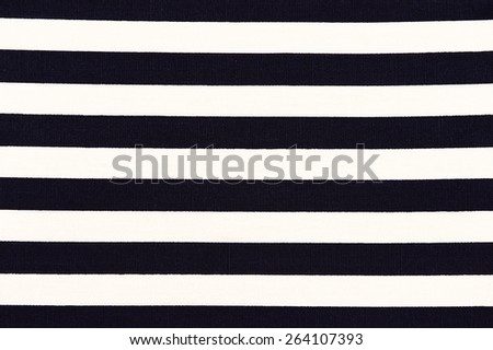 white and black striped fabric texture. - stock photo