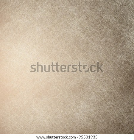 white and brown background canvas with parchment and grunge texture - stock photo