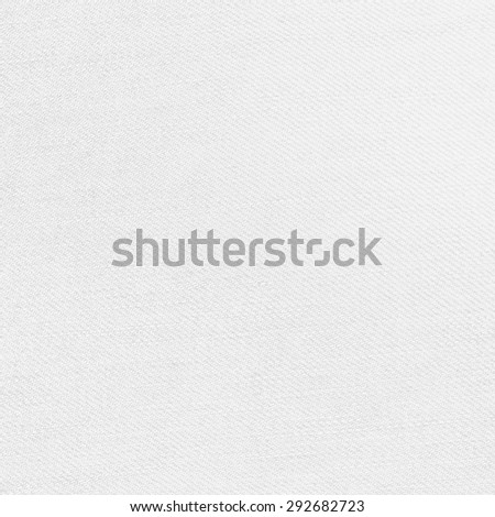 white background canvas fabric texture pattern - stock photo