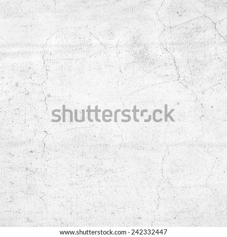 white background cracked wall texture - stock photo