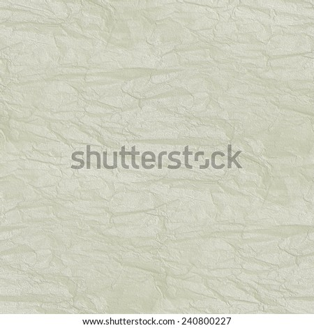 white background - crumpled, damaged paper (seamless pattern) - stock photo