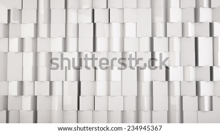 white background from cubes, you can overlay your own image - stock photo