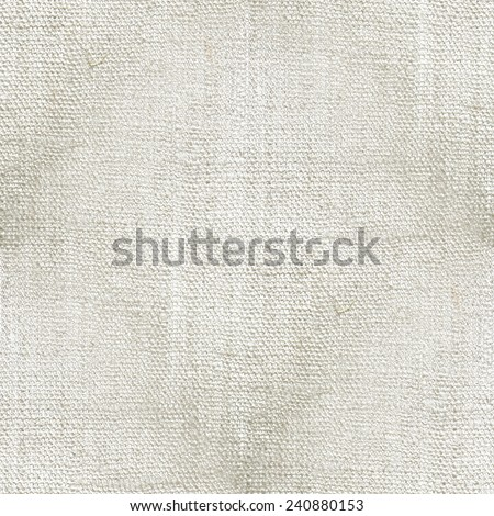 white background, structure of the canvas, seamless pattern - stock photo