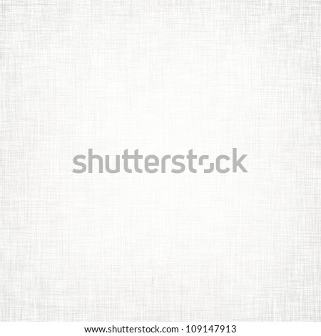 white background with subtle seamless pattern, linen texture - stock photo