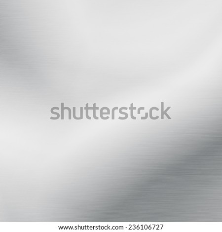 white board background chrome metal texture - stock photo