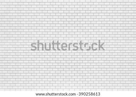 White brick stone wall seamless background and texture , Stone brick wall pattern , Building brick wall background , White wall texture and background - stock photo