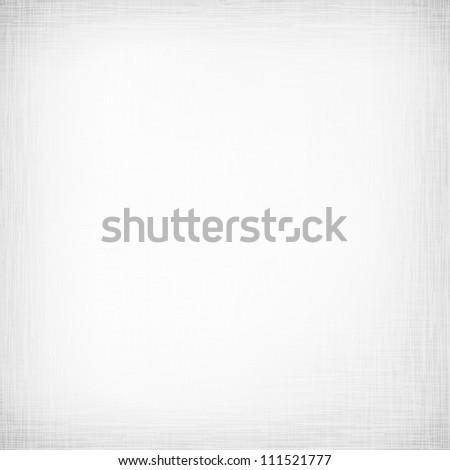 White canvas texture - stock photo