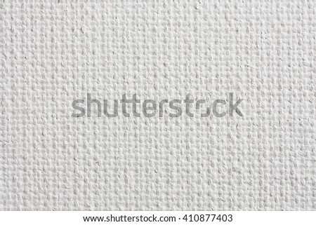 white canvas texture, close-up - stock photo