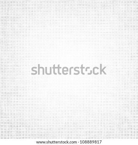 white canvas texture with delicate grid to use as vintage background - stock photo