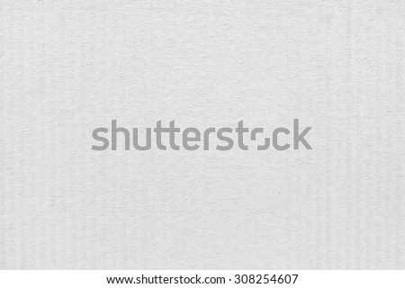 White Cardboard Texture, Top View - stock photo