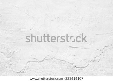 WHITE CEMENT TEXTURE - stock photo