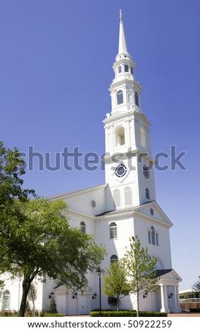 White Chapel - stock photo