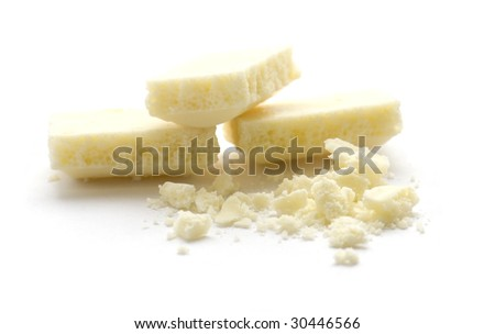 White Chocolate - stock photo