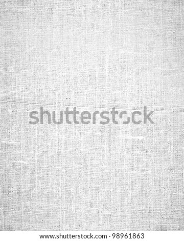 white cloth texture background - stock photo