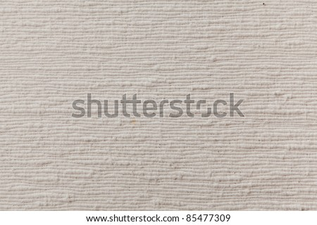 white cotton fabric texture background - stock photo