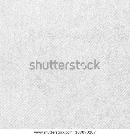White Fabric Texture - stock photo