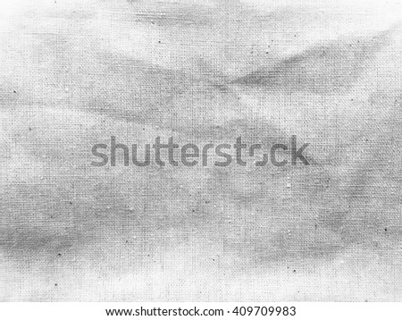 White fabric texture, abstract background. - stock photo