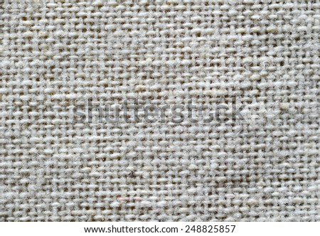 White Fabric Texture close up - stock photo