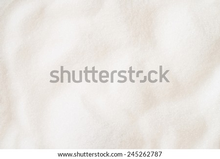 White fine sugar background texture - stock photo