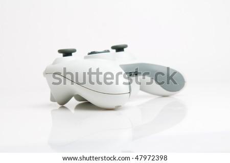 White game pad - stock photo