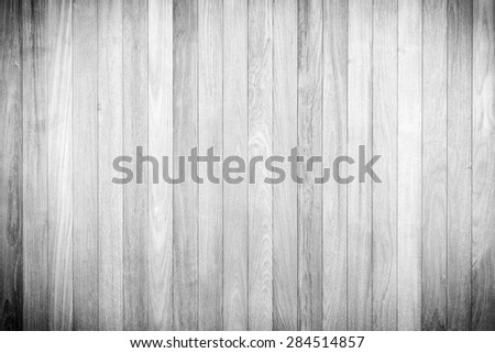 White gray wood plank vertical texture background - stock photo