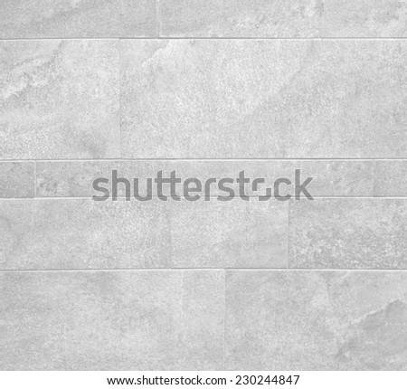 white / grey stone wall.  - stock photo