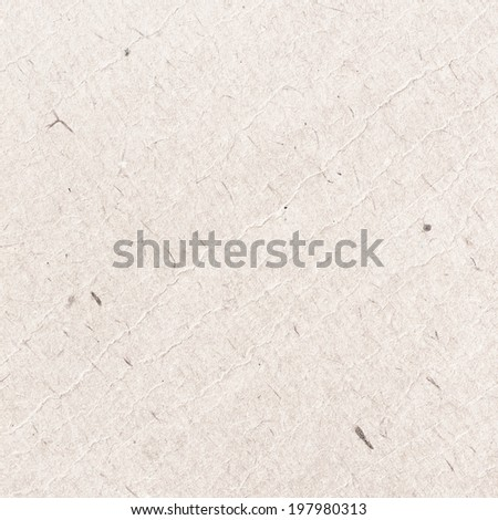 White Grungy Cardboard Texture - stock photo