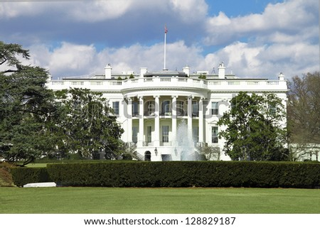 White House - stock photo