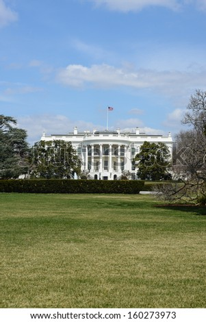White House of the United States - stock photo