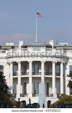 White House, Washington, D.C. - stock photo