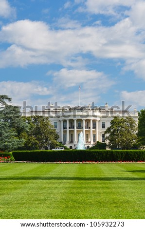 White House - Washington DC United States - stock photo