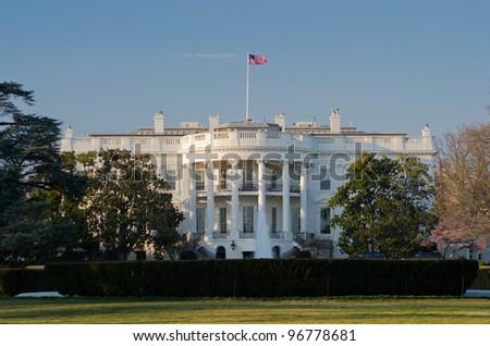 White House, Washington DC United States - stock photo