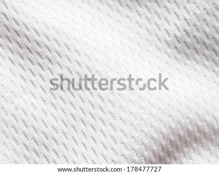 White jersey - stock photo