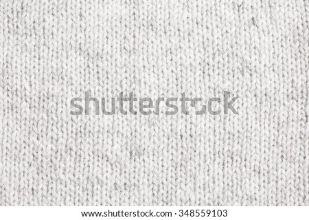 White Knitted Wool Background./White Knitted Wool Background. - stock photo