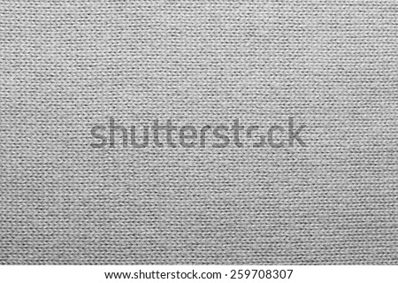 White knitted wool texture - stock photo