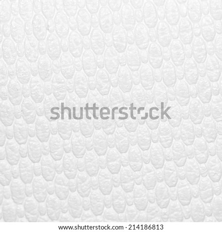 white leather as a background. close-up - stock photo