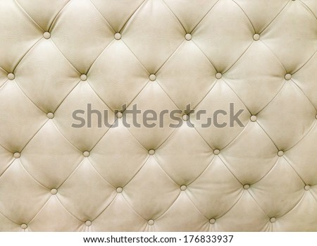 white leather background - stock photo