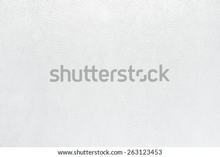 white leather texture background - stock photo