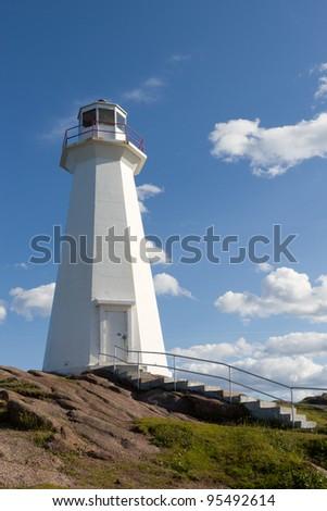 White Lighthouse - stock photo