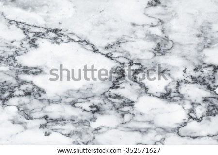 White marble texture background pattern with high resolution. natural marble black and white - stock photo
