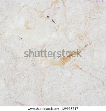White marble with natural pattern. - stock photo