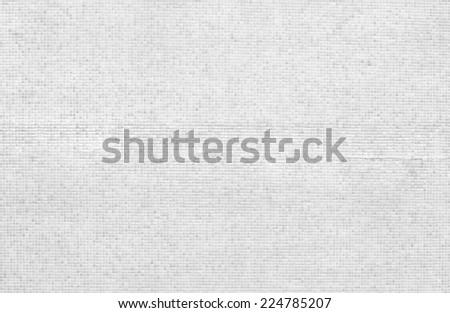 WHITE MOSAIC TEXTURE - stock photo