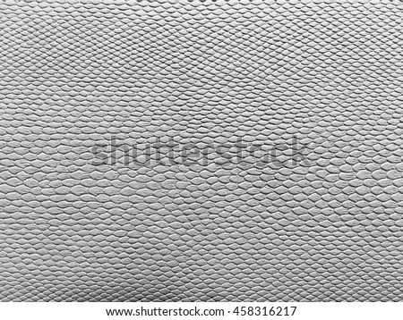 white or gray leather texture ,snake skin texture background. - stock photo